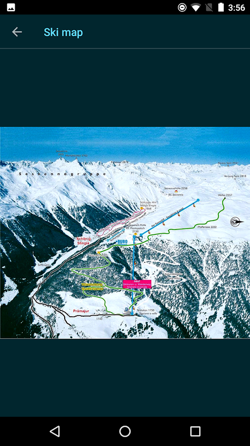 Snow Report Ski App- screenshot