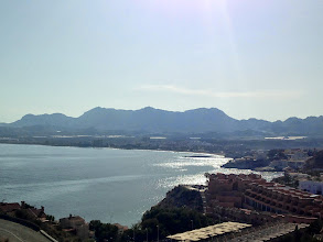 Photo: View from the fort