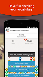 Vokabeltrainer - Cornelsen- screenshot thumbnail