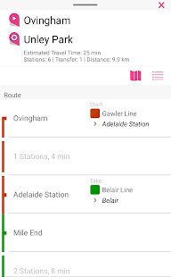 Adelaide Rail Map Apps on Google Play