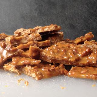 Spiced Honey Pine Nut Brittle