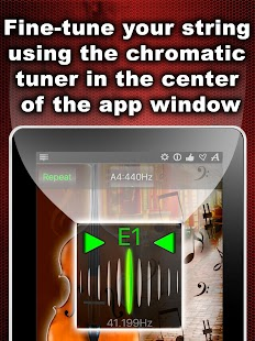 Chromatic Double Bass Tuner- screenshot thumbnail