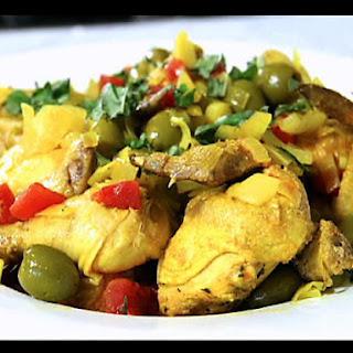 Sauteed Cornish Hens with Olives