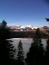 Photo: lac Pavin février 2011