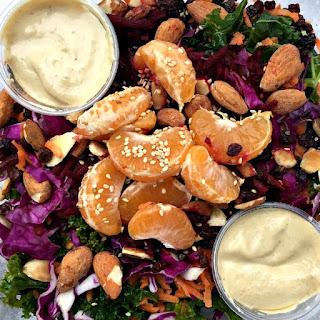Kale Citrus Salad with Tahini Dressing