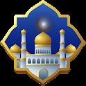 Alarm Adzan Otomatis, Jadwal Sholat & Kiblat icon