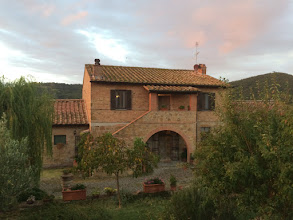 Photo: Agriturismo Podere Santa Maria near Pienza in the heart of Tuscany