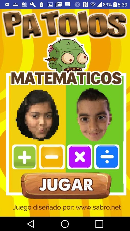 Patojos Matematicos- screenshot