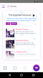 Circuits hiit training- screenshot thumbnail