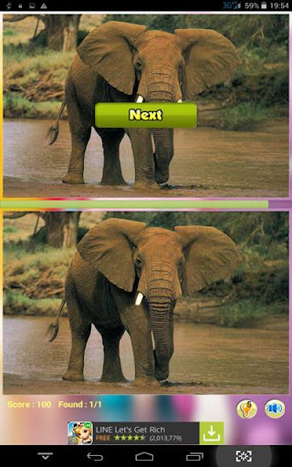 Elephant Find Difference