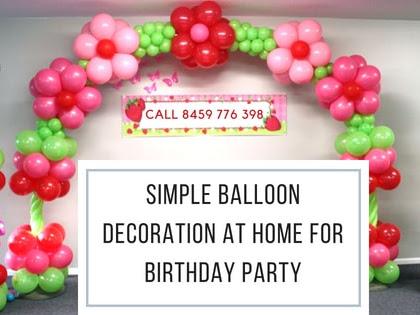 Birthday Decoration Balloon Decoration In Pune