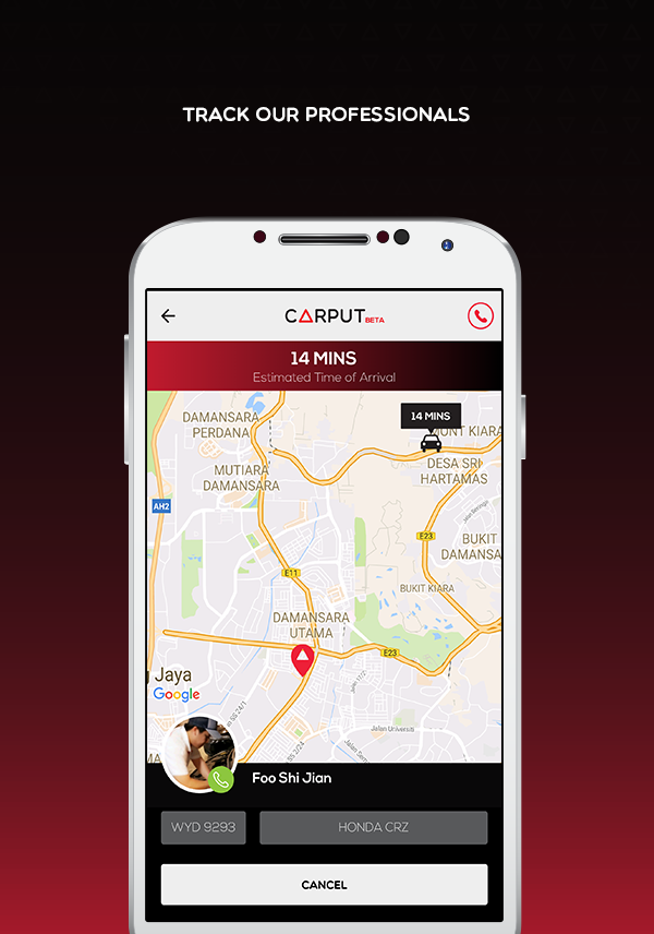 CARPUT – Car Breakdown Assist- screenshot