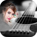 guitar photo frames costume montage editor icon