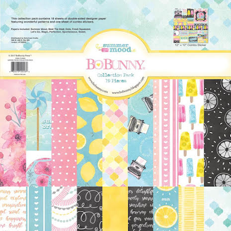 BoBunny Collection Pack 12X12 - Summer Mood UTGÅENDE