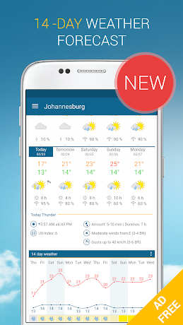 Weather & Radar Pro Ad-Free 4.0.3 Patched APK