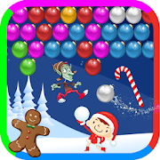 Christmas games: Christmas bubble shooter Xmas