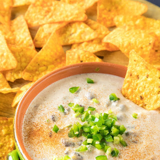 Southwest-Style Cheese Dip -.