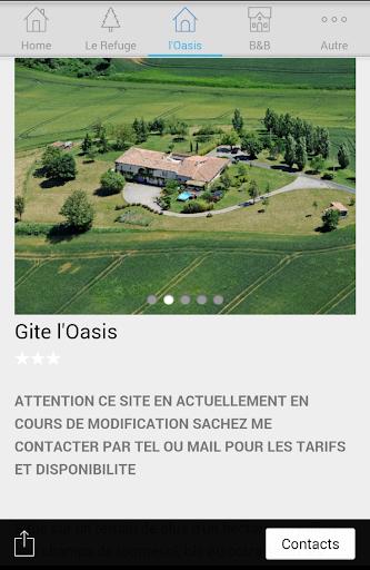免費下載旅遊APP Gîtes l'Oasis et le Refuge app開箱文 APP開箱王