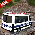 Police Car Driving Simulator Real Van Driver icon