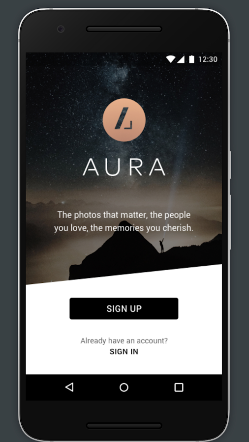 Aura Frame- screenshot