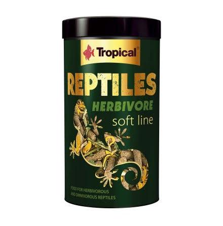 Tropical Soft Line Reptiles Herbivore 250ml/65g