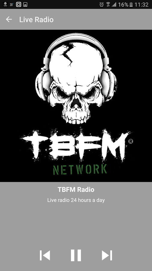 TBFM Network- screenshot