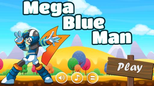 Mega Blue Man
