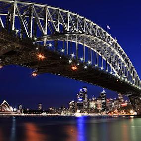 Sydney Harbour Bridge by Handi Laksono - Buildings & Architecture Bridges & Suspended Structures