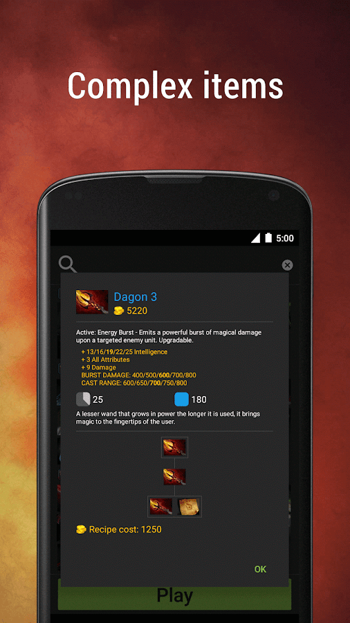 easy items for dota 2 android apps on google play
