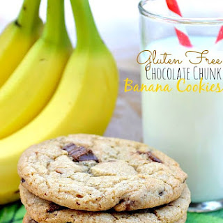 Gluten Free Chocolate Chunk Banana Cookies