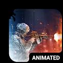 Warfare Animated Keyboard + Live Wallpaper icon