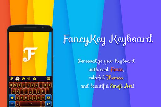 Galaxy for FancyKey Keyboard screenshot