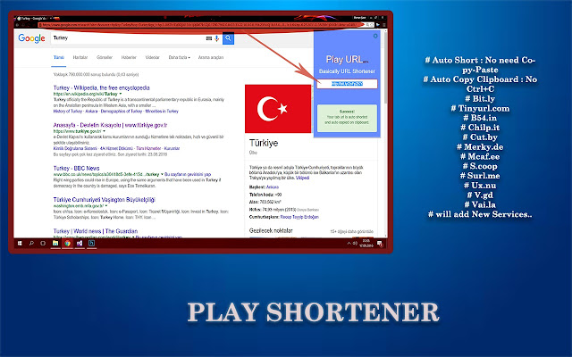 Play Shorter | 13+ URL Shorting Services