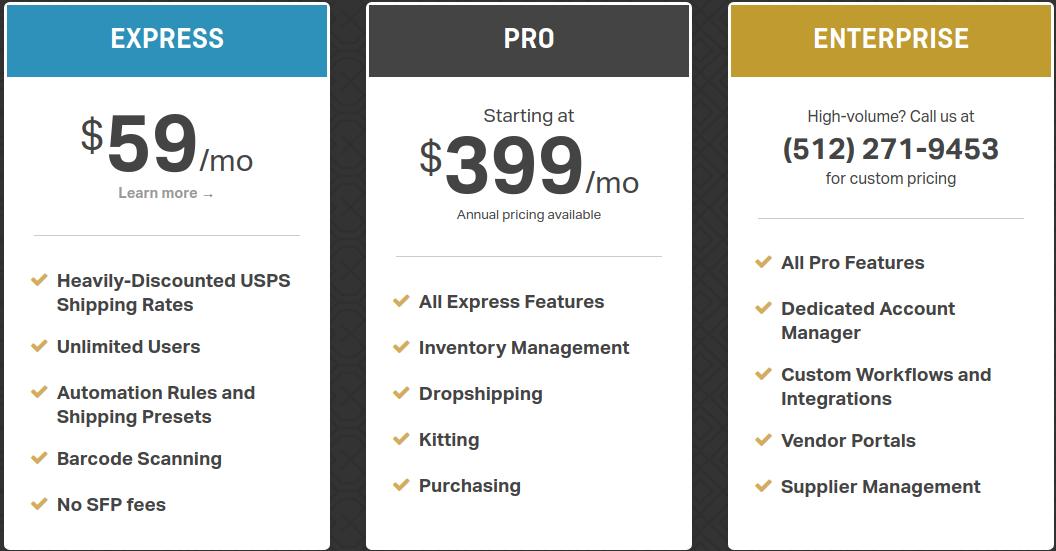 Ordoro shipping software