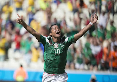 Mexique: Giovanni Dos Santos forfait