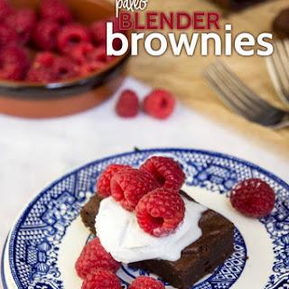Paleo Blender Brownies.