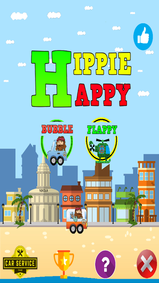 Hippie Happy- screenshot
