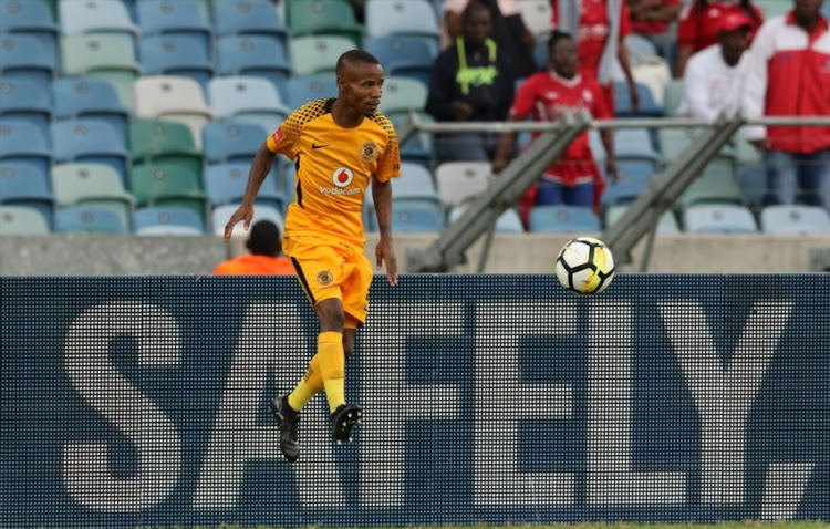 Joseph Molangoane of Kaizer Chiefs during the Absa Premiership match between Kaizer Chiefs and Free State Stars at Moses Mabhida Stadium on November 25, 2017 in Durban.