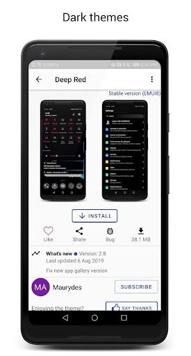 Themes Manager for Huawei / Honor / EMUI screenshot 3