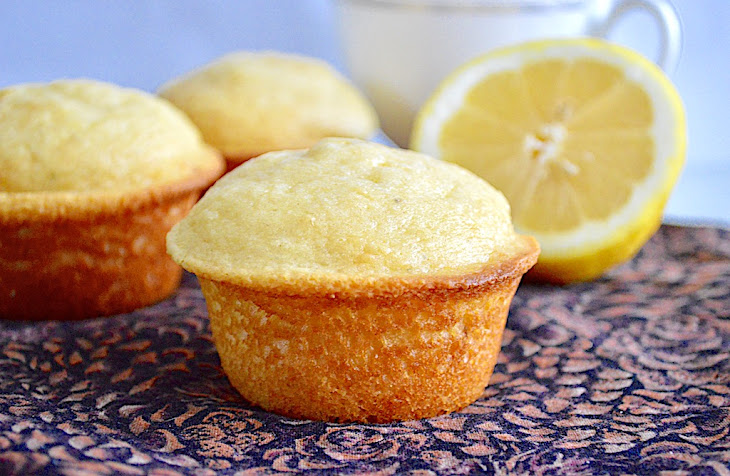 Lemon Lavender Mascarpone Muffins Recipe