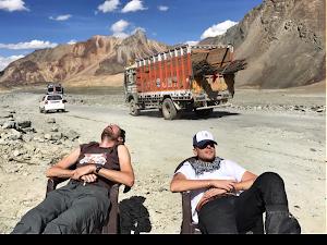 La Trans himalayenne  voyage moto aventure