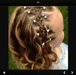 Kids Hairstyle Braid - náhled