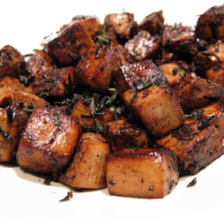 The Best Basic Balsamic Tofu.