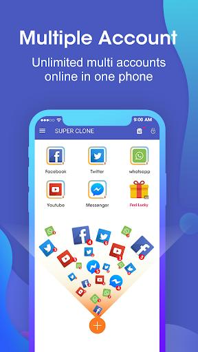 Super Clone - App Cloner for Multiple Accounts Apk 1