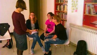 Photo: 4.13.15 Hollaback Croatia street harassment workshop