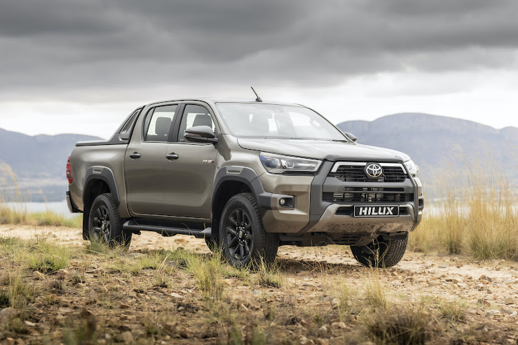 "The Toyota Hilux 2.8 GD-6 4x4 Legend RS – RS stands for ""Roller Shutter""."