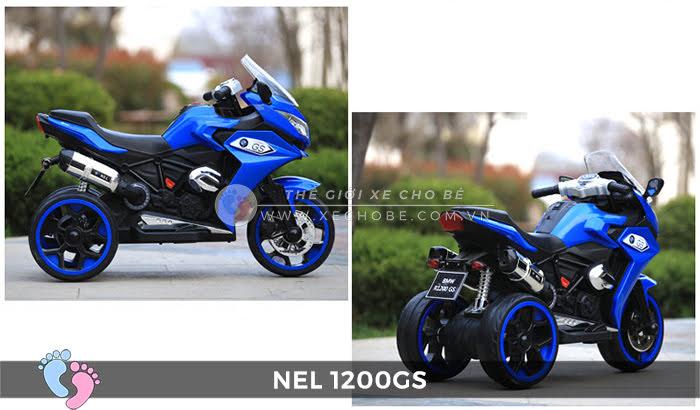 Moto điện 3 bánh cho bé NEL-1200GS 18