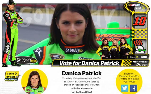 The Danica Patrick Voting Companion