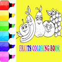 Coloring Book Fruit-Coloring Easy icon