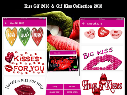 Gif Kiss Collection 2018 - náhled